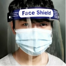 Full Face Covering Anti-Fog Shield Clear Glasses Face Protection