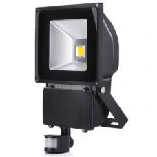 100W (1000W Equiv) LED PIR Floodlight  - Warm White
