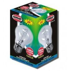 100W (150W Equiv) Edison Screw GLS Eco Halogen Light Bulb