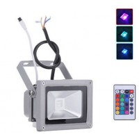 10W RGB LED Floodlight Colour Changing With Remote