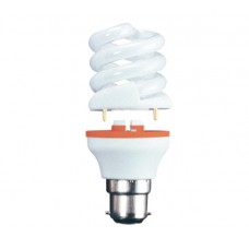 11w (60w) 2 Part Bayonet CFL light bulb Daylight