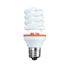 11w (60w) 2 Part Edison Screw CFL Light Bulb Cool White