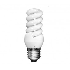 11w Edison Screw Extra Mini Low Energy Spiral Light Bulb (Daylight)