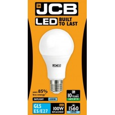 15W (100W) LED GLS Edison Screw Light Bulb Daylight White