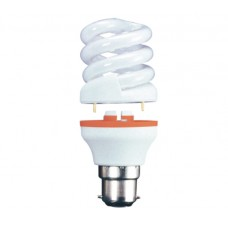 15w (75w) 2 Part Bayonet Low Energy light bulb - Cool White