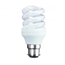 15w (75w) Bayonet Low Energy Light Bulb in Cool White (Quick Start)