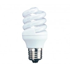 18w (100w) Edison Screw Energy Light Bulb - Cool White (Quick Start)