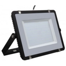 200W Slim Pro LED Security Floodlight - Daylight White (Black Case)
