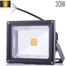 20W LED Security Floodlight Warm White