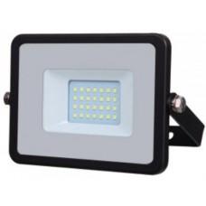 20W Slim LED Floodlight Daylight White (6400K) VT-20-B / 441
