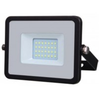 20W Slimline Premium High Lumen LED Floodlight Warm White (3000K)