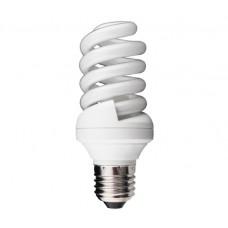 25w (120w) Edison Screw / ES Mini Spiral Light Bulb in Warm White