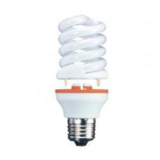 25w (120w Plus) 2 Part Edison Screw Spiral Light Bulb Warm White