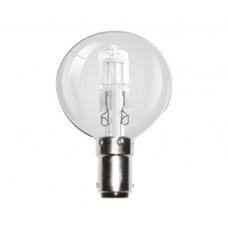 28W (40W Equiv) Small Bayonet Halogen Golf Ball Light Bulb