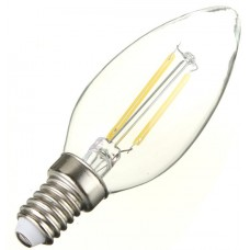 2W (25W) LED Filament Candle Small Edison Screw in Daylight