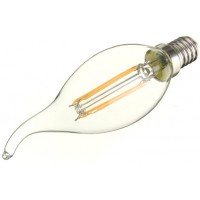 2W (25W) LED Flame Tip Candle Small Edison Screw in Warm White