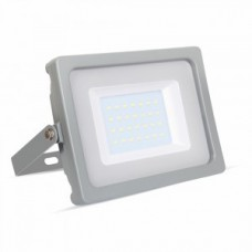 30W Slim LED Floodlight Daylight White (Grey Case)