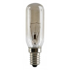 40W Tubular Cooker Hood Light Bulb Small Edison Screw SES / E14