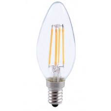 4W (40W) LED Filament Candle Small Edison Screw in Warm White