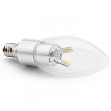 4W (30W) LED Candle - Small Edison Screw in Warm White