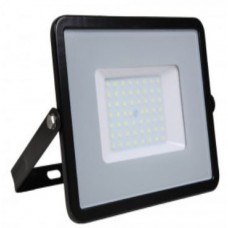 50W Slim Pro LED Security Floodlight Warm White (Black Case)