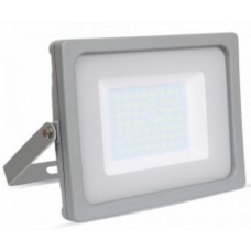 50W Slim LED Floodlight Warm White (Grey Case)