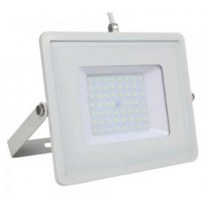 50W Slim Pro LED Security Floodlight Daylight White White Case