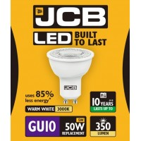 5W = 50W LED GU10 Spotlight Light Bulb in Warm White
