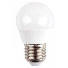 6W (40W) LED Golf Ball Edison Screw Light Bulb in Cool White