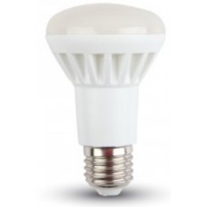 8W (60W) LED R63 Edison Screw / ES / E27 Reflector Light Bulb in Cool White