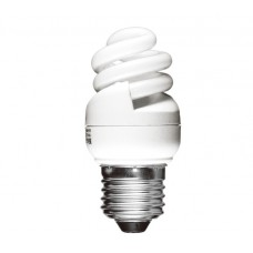 8w (40w) Edison Screw Ultra Mini CFL Light Bulb Warm White