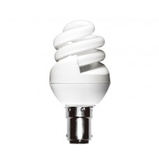 8w (40w) Small Bayonet Ultra Mini CFL Light Bulb Warm White