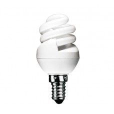 8w (40w) Small Edison Screw Ultra Mini CFL Light Bulb Cool White