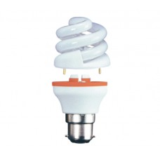9w (40w) 2 Part Bayonet Low Energy light bulb - Daylight