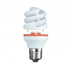 9w (40w) 2 Part Edison Screw Low Energy Light Bulb - Warm White