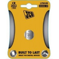 CR2032 3V Button Battery by JCB - Lithium Coin Cell
