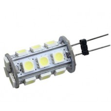G4 12V 18 LED Light Bulb in Daylight White
