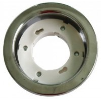 GX53 Recessed Light Fitting Round Chrome
