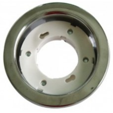 GX53 Recessed Fitting Round Chrome