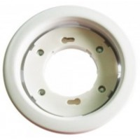 GX53 Recessed Light Fitting Round White