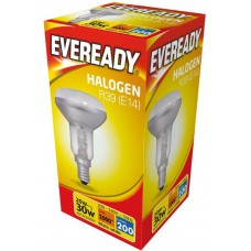 Halogen R39 20W (25W Equiv) Small Edison Screw SES Reflector Light Bulb