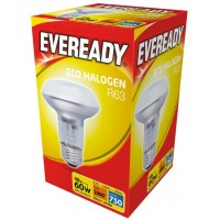 Halogen R63 42W (60W Equiv) Edison Screw Reflector Low Energy Lamp