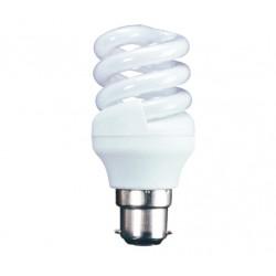 11w (60w) Bayonet Low Energy Light Bulb - Cool White (Quick Start)
