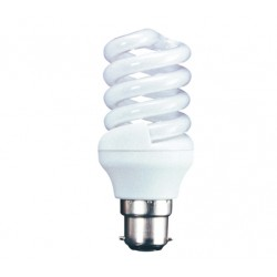 20W (100W+) Bayonet Low Energy Light Bulb - Cool White (Quick Start)
