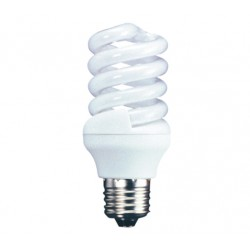 20w (100w+) Edison Screw Low Energy Light Bulb - Cool White (Quick Start)