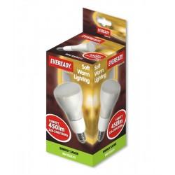 15w (75w) R80 Edison Screw Spotlight Bulb (Warm White / 827)