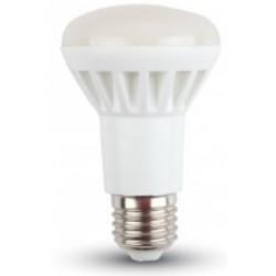 8W (60 Watt) LED R63  Edison Screw ES / E27 Reflector Spotlight Warm White